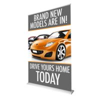 60 x 92 Retractable Banner  Thumbnail