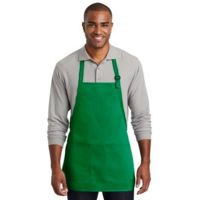 ® Medium Length Two Pocket Bib Apron Thumbnail