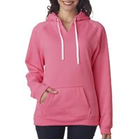 Ladies' Sydney Brushed V-Neck Hood Thumbnail